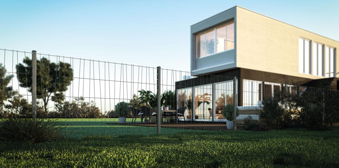 Clôture extérieure et grillage pour jardins et terrains | Les Matériaux