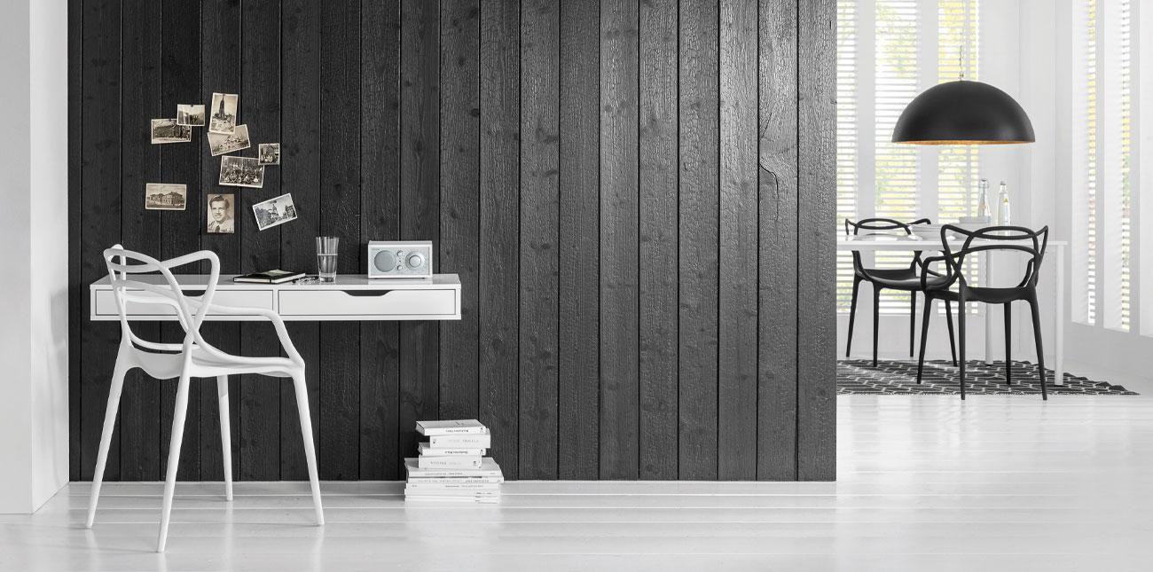 lambris pour habiller votre int rieur les mat riaux lambris. Black Bedroom Furniture Sets. Home Design Ideas
