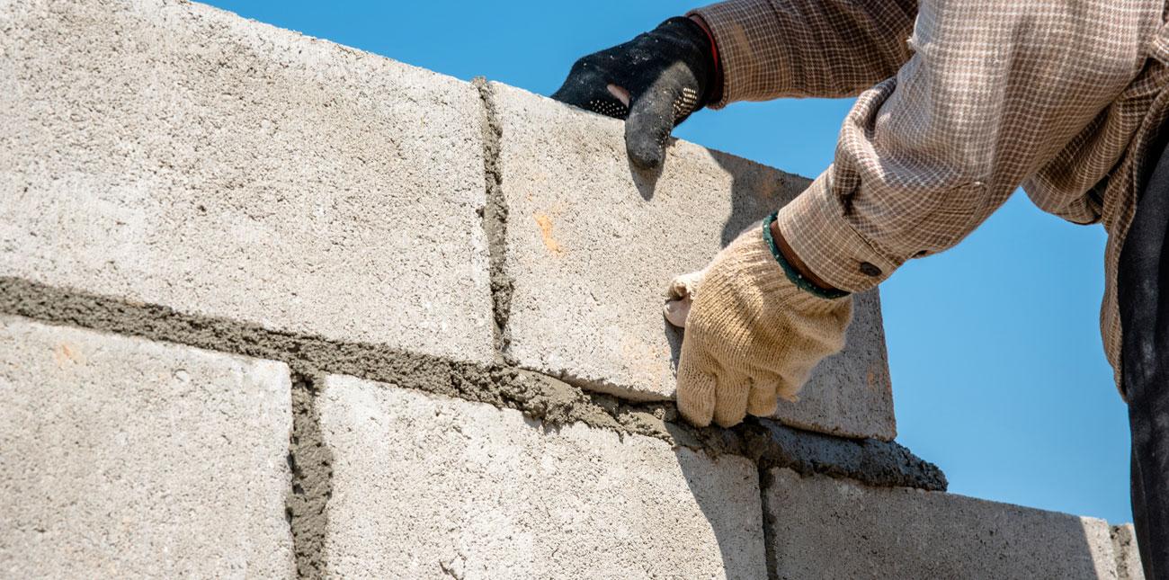 bloc beton - grand choix de blocs béton   les matériaux