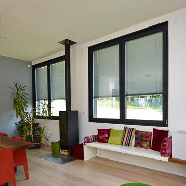 fen tre aluminium sur mesure r novation les mat riaux fen tres alu. Black Bedroom Furniture Sets. Home Design Ideas