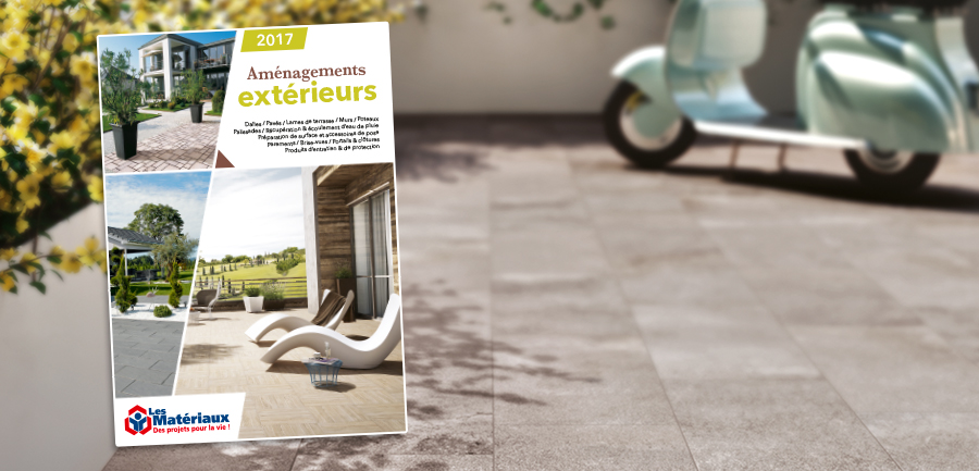 Actualit s les mat riaux for Catalogue amenagement exterieur
