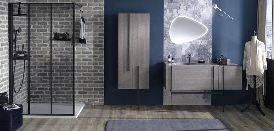 nouveaux docks des espaces salle de bains somptueux les mat riaux. Black Bedroom Furniture Sets. Home Design Ideas