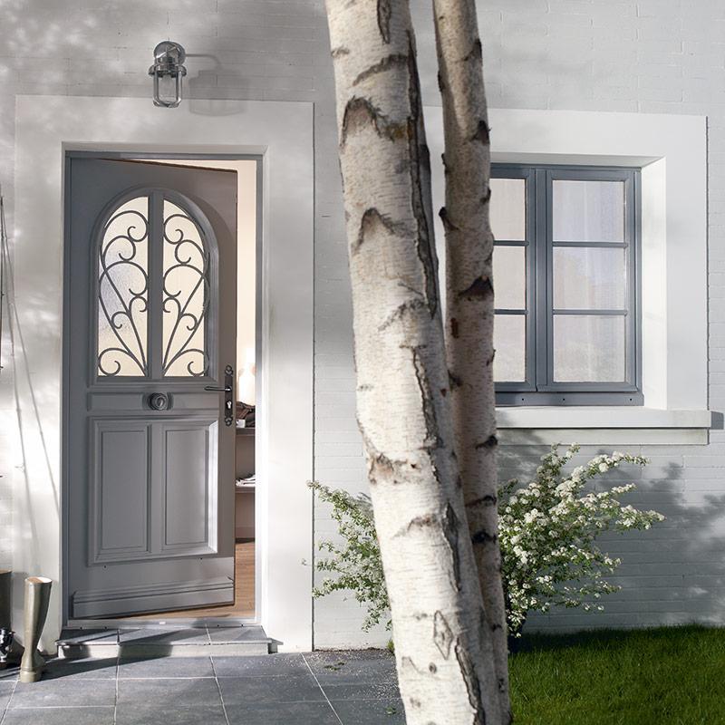 porte d 39 entr e denia les mat riaux. Black Bedroom Furniture Sets. Home Design Ideas