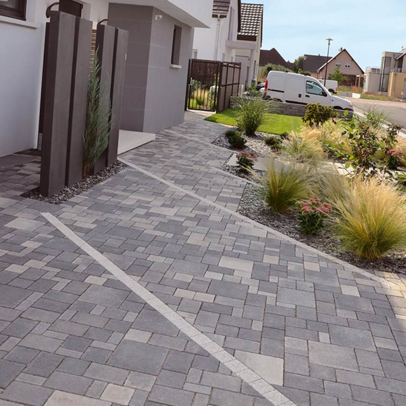 Pave antinea lino pav s am nagement ext rieur for Pave beton exterieur