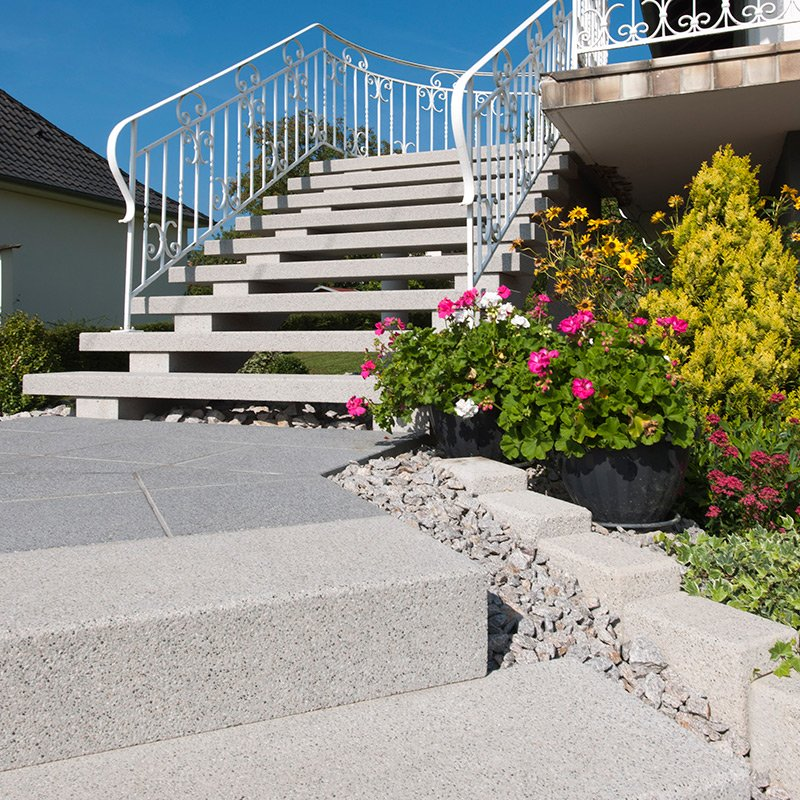 marches plates et contremarches blocs marches escaliers les mat riaux. Black Bedroom Furniture Sets. Home Design Ideas
