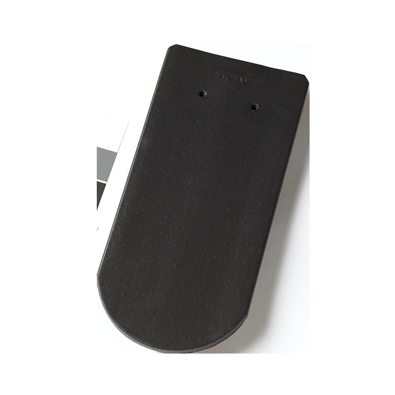 Tuile plate 18 x 38 ecaille les mat riaux for Koramic tuile