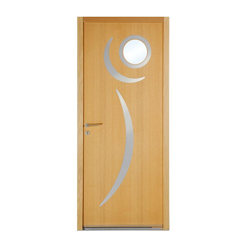 Porte d 39 entr e bois tendances veracruz porte d 39 entr e for Porte exterieure bois vitree