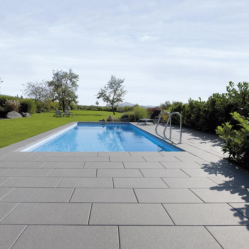 Dalles arcadia premium les mat riaux for Nettoyage dalle piscine