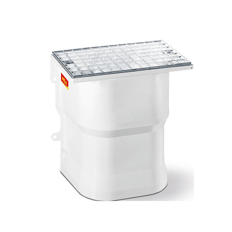 Courette a ration puits de lumi re les mat riaux - Grille de ventilation vide sanitaire ...