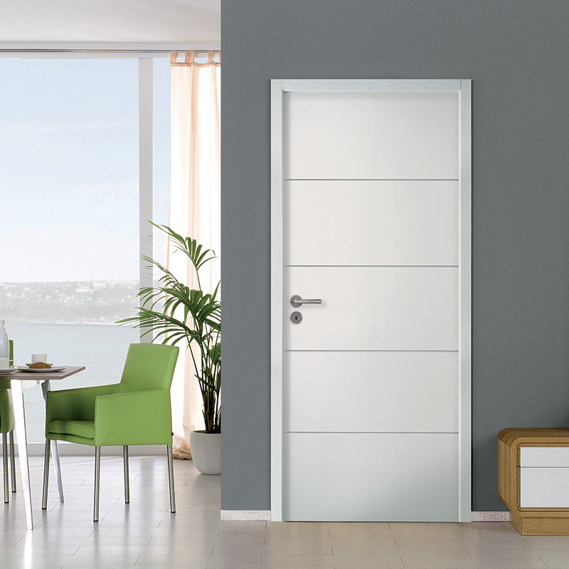 Porte int rieure postform e moderna horizon jeld 39 wen les for Porte interieur isophonique
