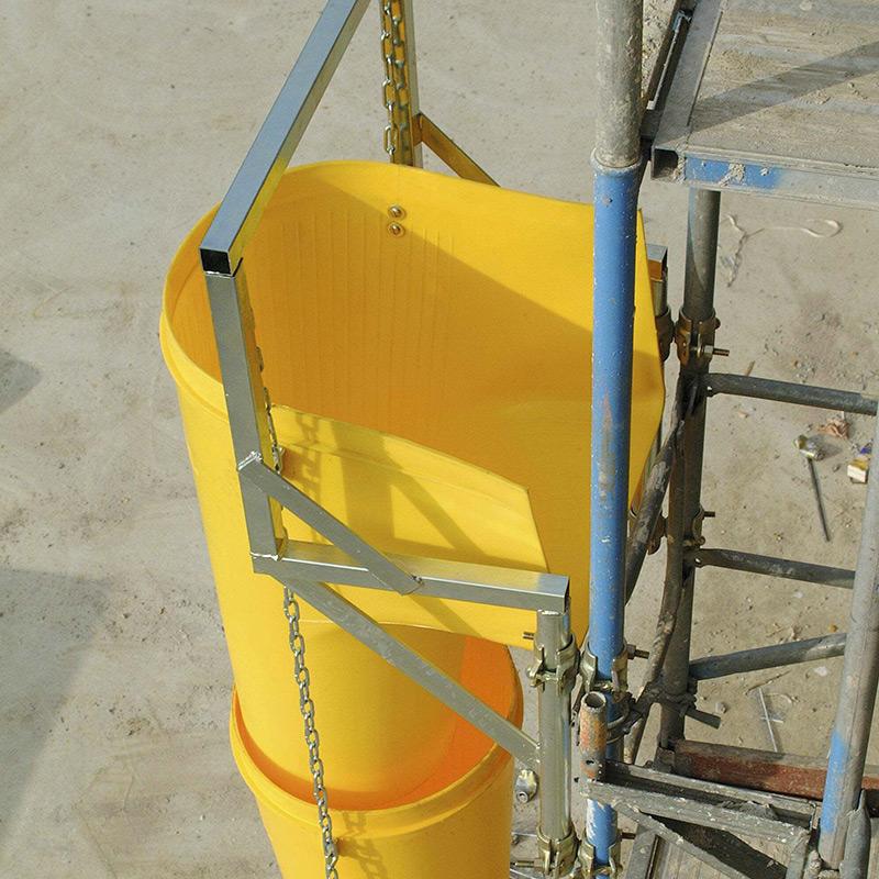 Goulottes a gravats mat riels d 39 quipements les mat riaux - Goulotte de chantier ...