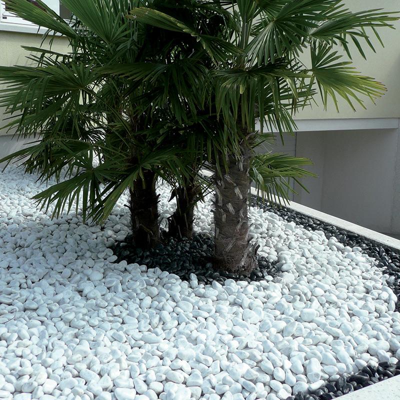Galets de marbre rev tements ext rieurs les mat riaux for Galet noir exterieur