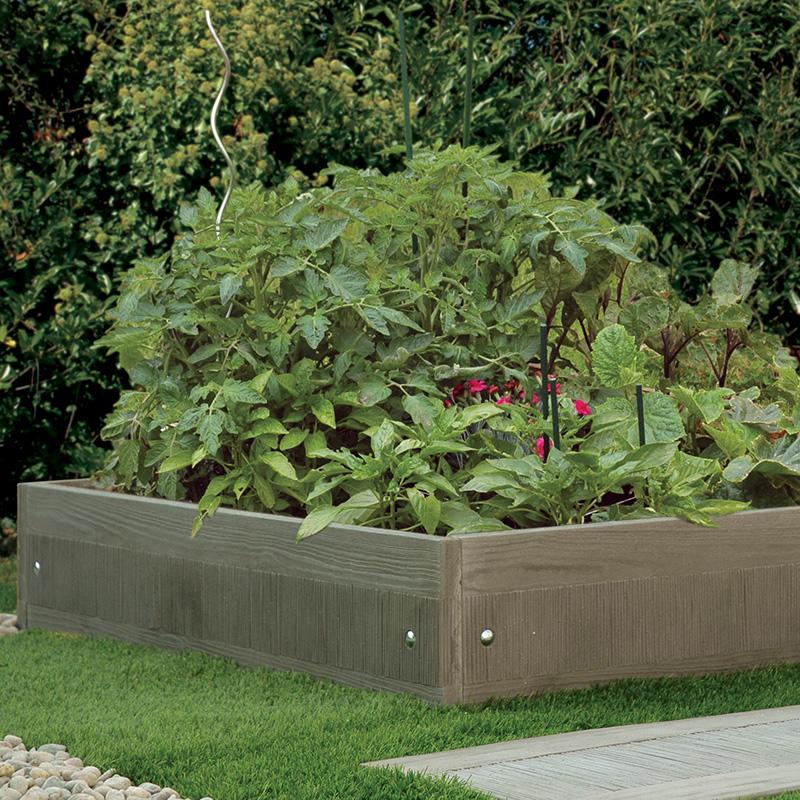 Carr potager murs couvertines parements les mat riaux for Murs de jardin en beton
