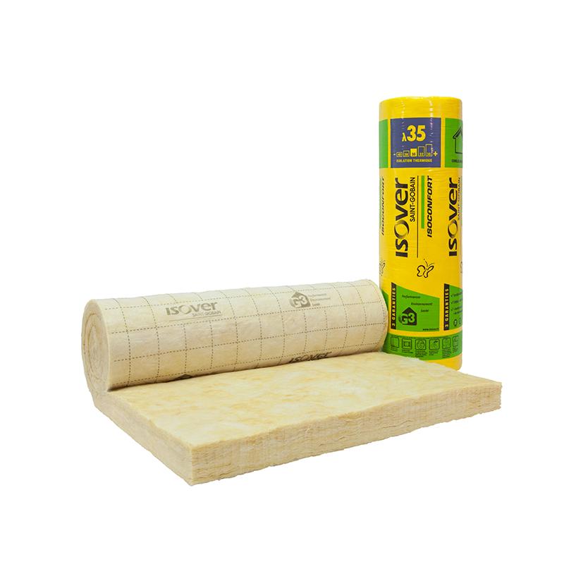 isolant laine de verre isoconfort 32 et 35 les mat riaux. Black Bedroom Furniture Sets. Home Design Ideas