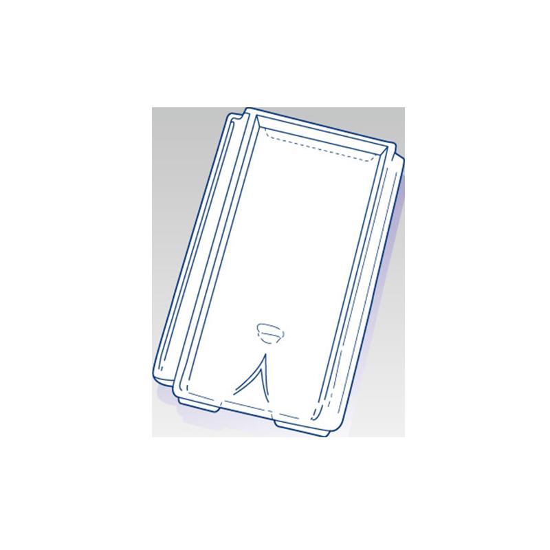 tuile en verre chagny sesr les mat riaux. Black Bedroom Furniture Sets. Home Design Ideas
