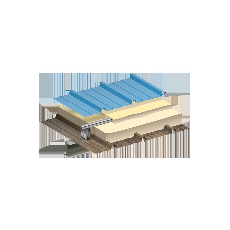 surtoiture feno sur bac les mat riaux. Black Bedroom Furniture Sets. Home Design Ideas