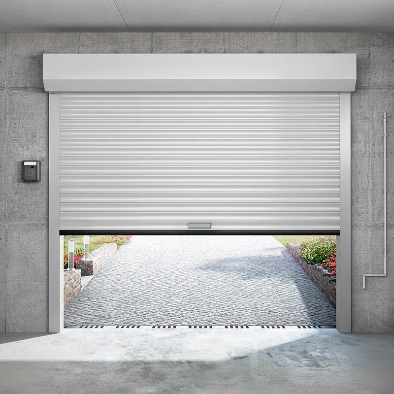 Porte de garage a enroulement portes de garage les for Portail garage enroulement