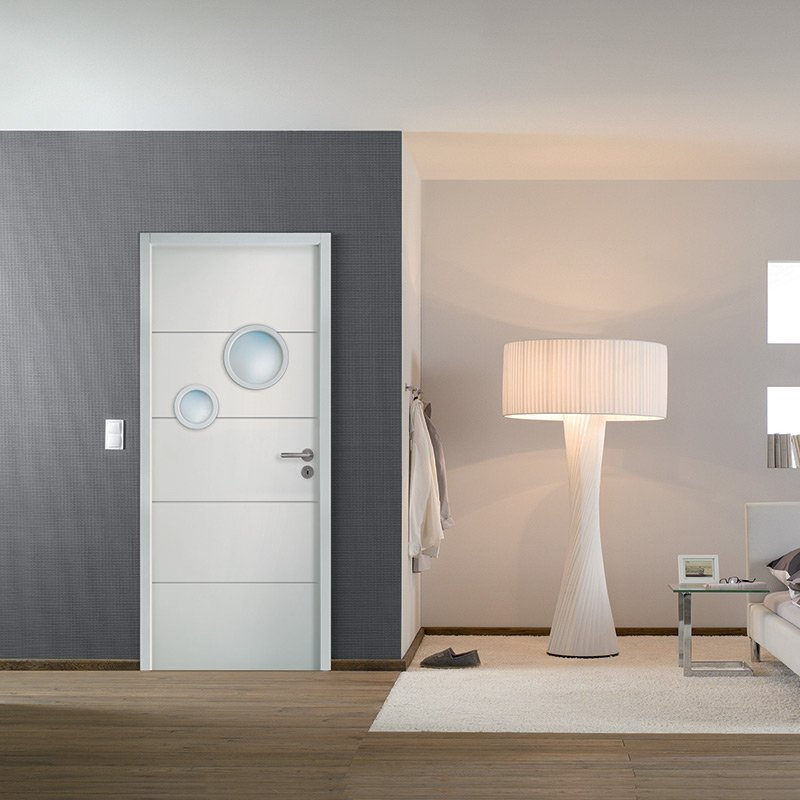 porte moderna horizon 2 bulles les mat riaux. Black Bedroom Furniture Sets. Home Design Ideas