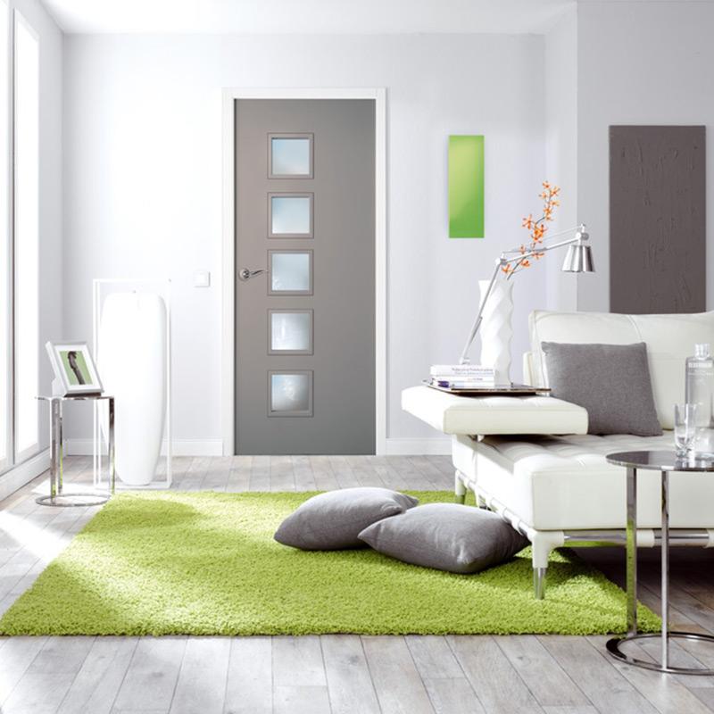 porte moderna cubisme 5 d s les mat riaux. Black Bedroom Furniture Sets. Home Design Ideas