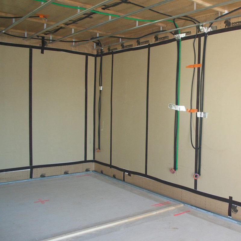 Plaque isolante tms gf si murs les mat riaux for Plaque isolation mur interieur