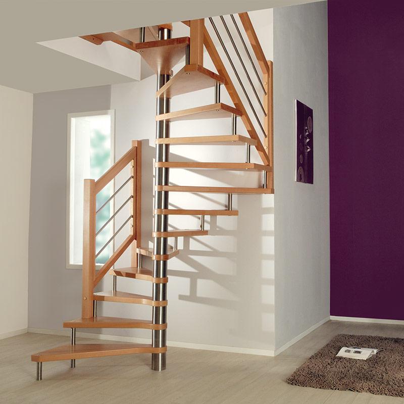 Escalier mod le fh108 les mat riaux for Construction escalier interieur