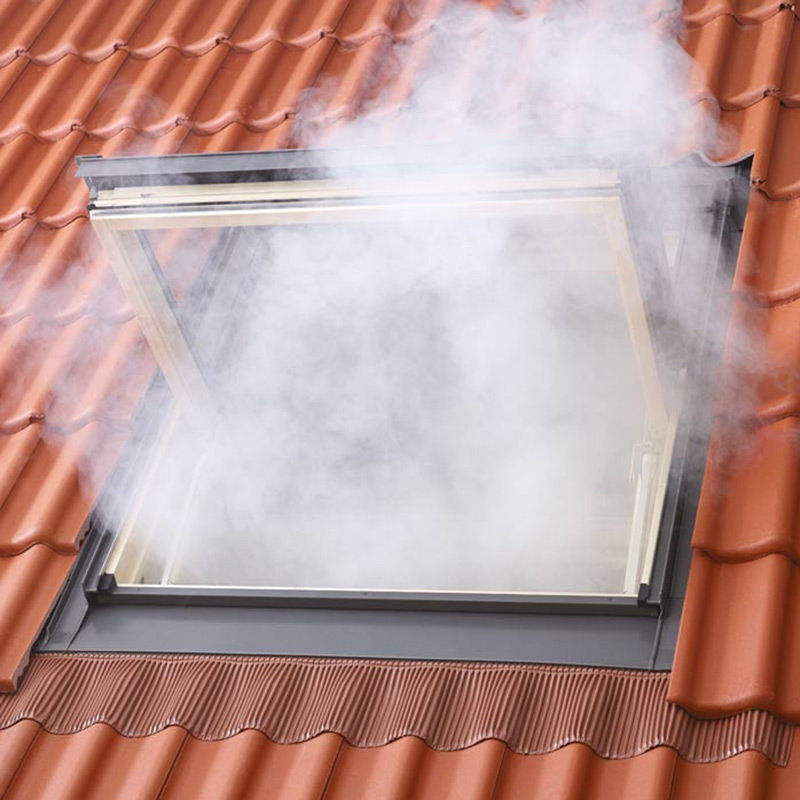 Installation thermique exutoire de fum es velux for Fenetre zoom autocad