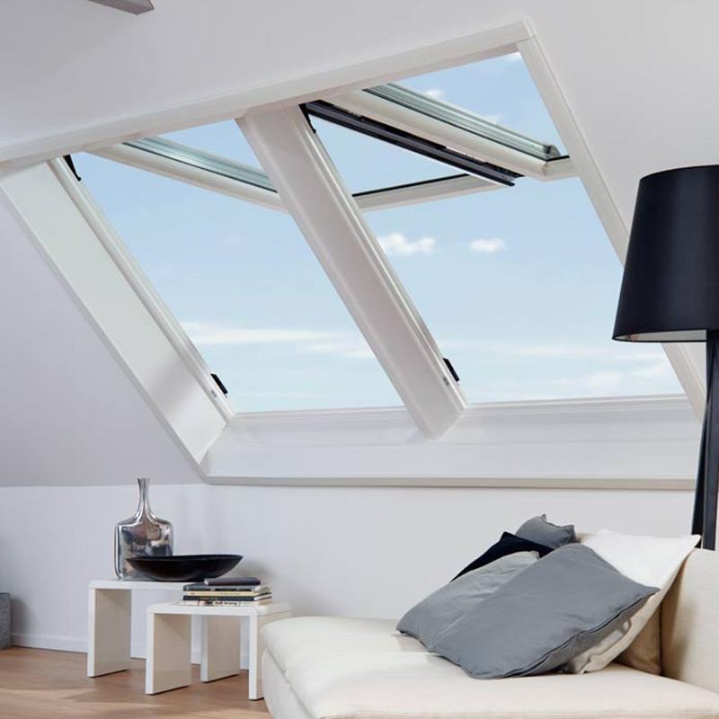 fen tre de toit pvc designo rotocomfort i8 roto les. Black Bedroom Furniture Sets. Home Design Ideas