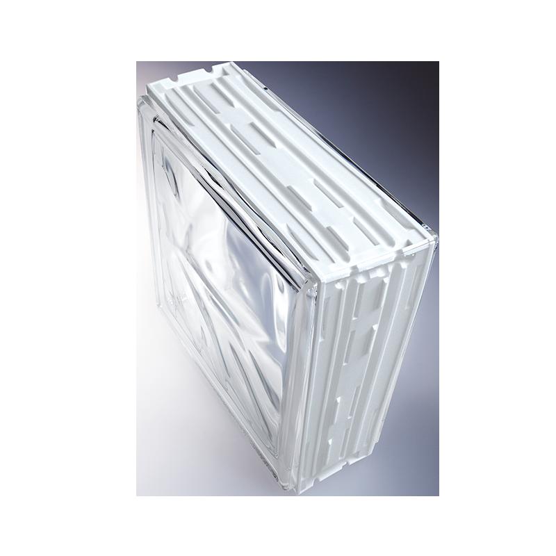 Brique de verre cubiver les mat riaux for Kit montage brique de verre