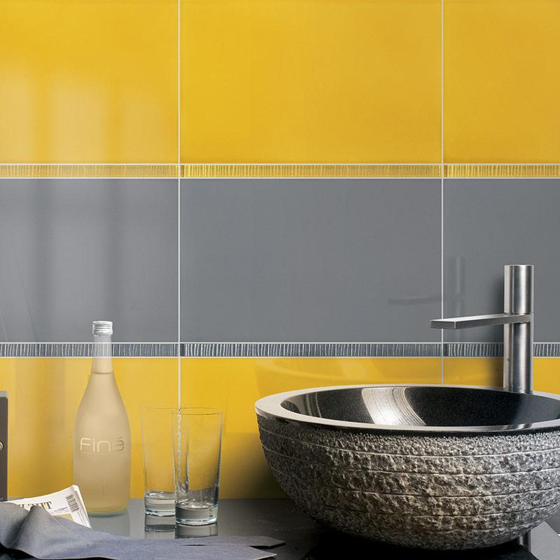 Carrelage fa ence mural palette les mat riaux for Faience cuisine coloree