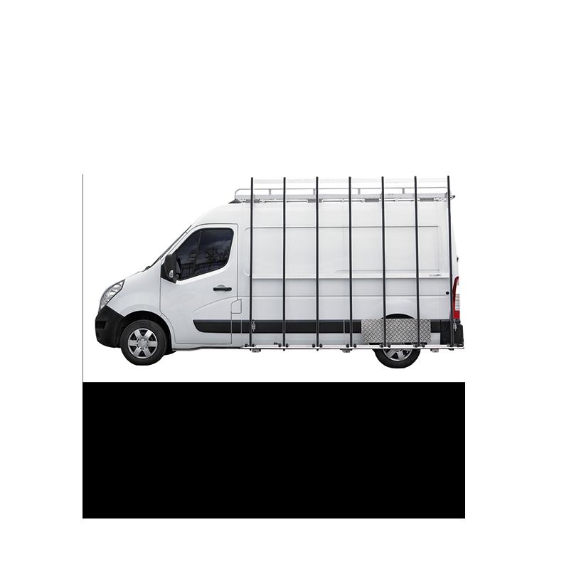Pupitre porte verre pour vehicule utilitaire les mat riaux for Porte vitre exterieur