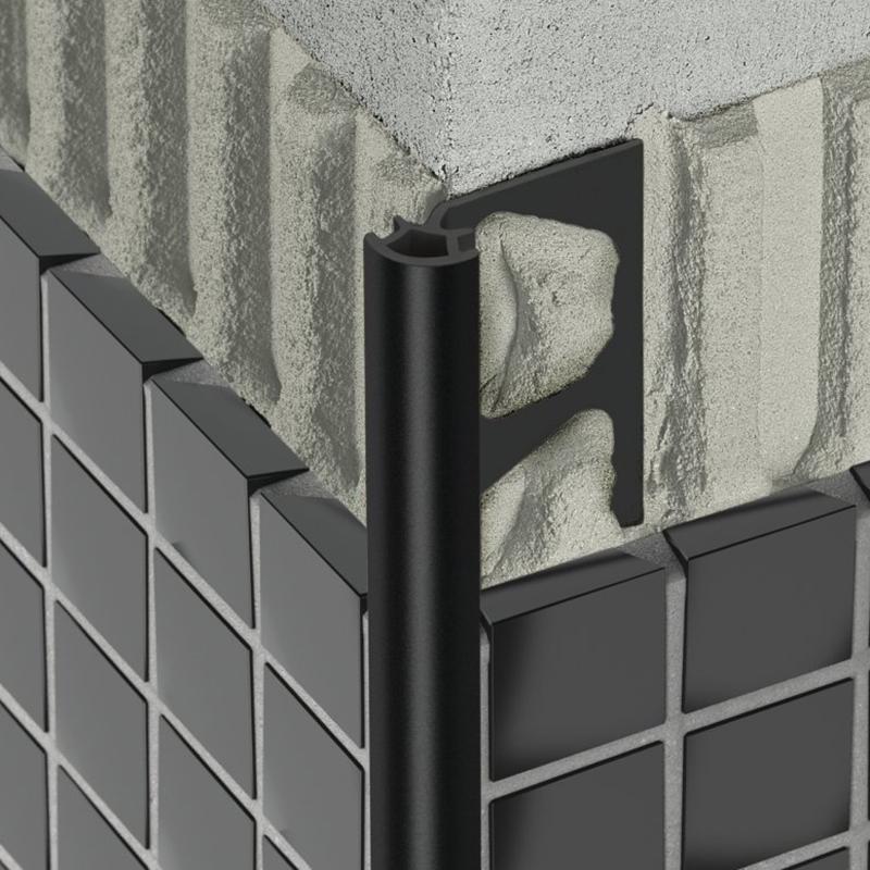 profil pour murs schl ter rondec pro les mat riaux. Black Bedroom Furniture Sets. Home Design Ideas
