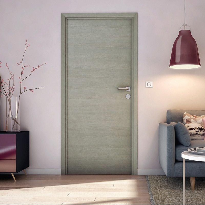 Porte fuji les mat riaux for Porte interieur gris
