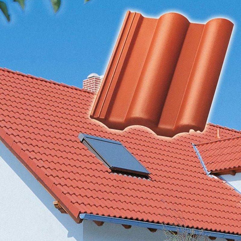 Kronen top 2000 s tuiles b ton couverture - Produit de traitement impermeabilisant des tuiles ...