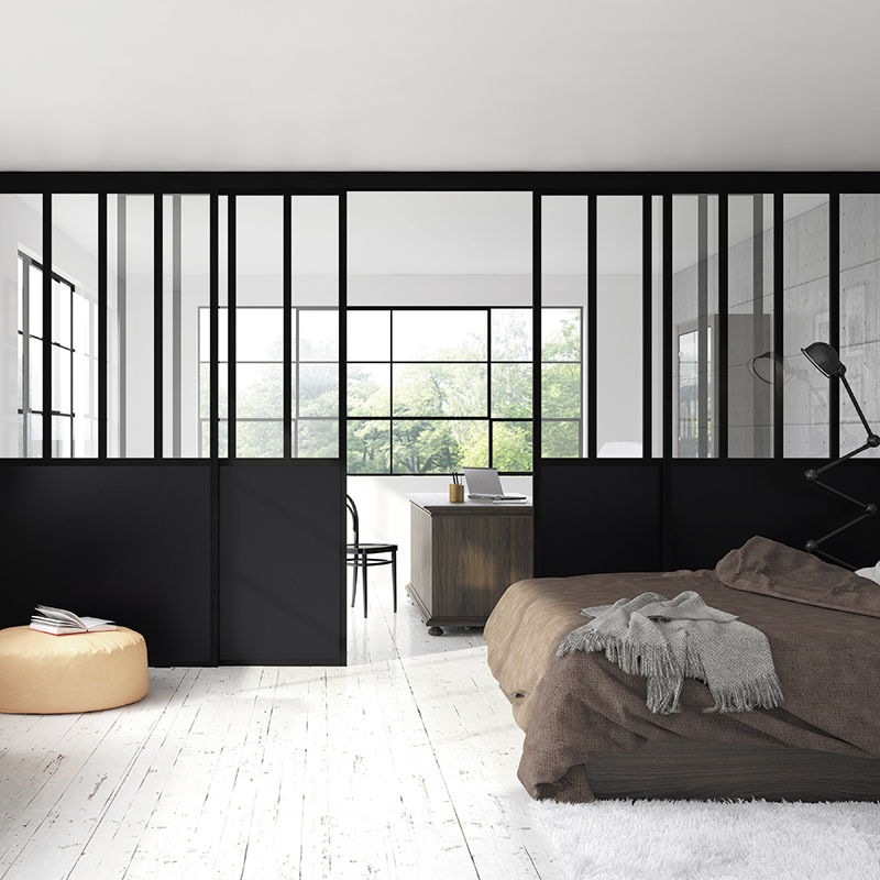 coulissants verri res coulidoor les mat riaux. Black Bedroom Furniture Sets. Home Design Ideas
