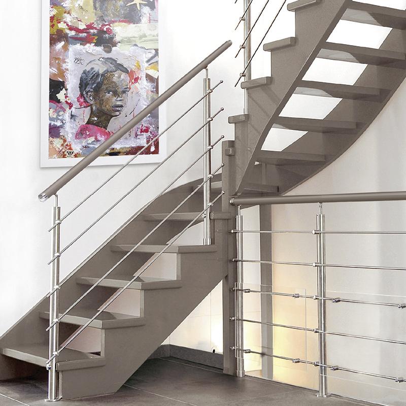 escalier atos 2 4 tournant eba les mat riaux