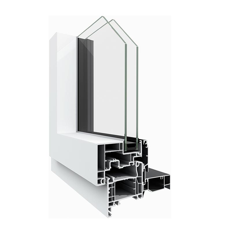 fen tres aluminium m3d pvc millet les mat riaux. Black Bedroom Furniture Sets. Home Design Ideas