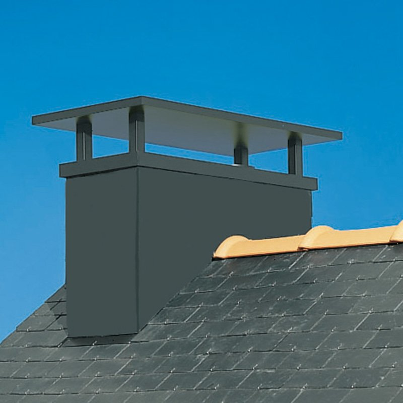 sortie de toit bretagne chemin es poujoulat les mat riaux. Black Bedroom Furniture Sets. Home Design Ideas