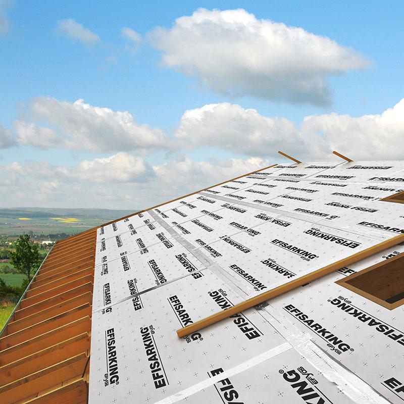 panneau isolant pour toiture pente efisarking soprema les mat riaux. Black Bedroom Furniture Sets. Home Design Ideas