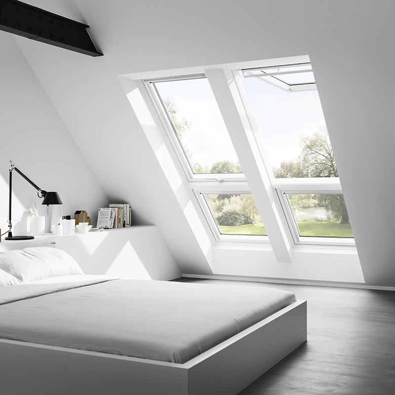 verri re plane velux les mat riaux. Black Bedroom Furniture Sets. Home Design Ideas