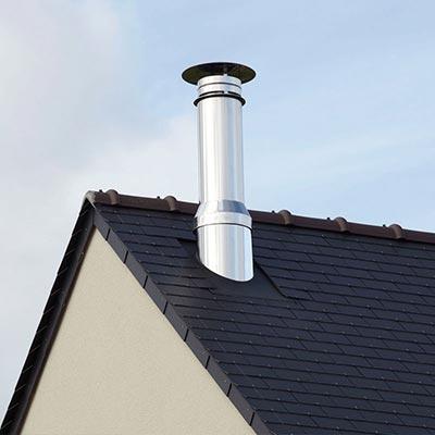 Fumisterie et sortie de toit vmc les mat riaux for Poujoulat sortie de toit
