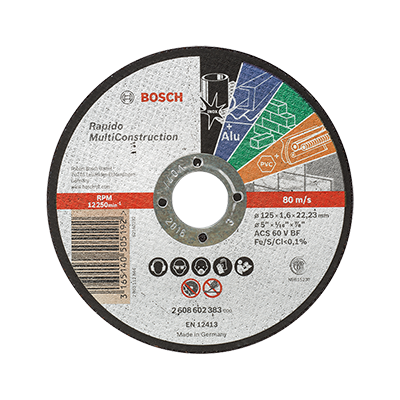 Disque Rapido multi construction Bosch