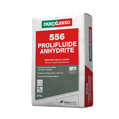 Colle 556 prolifluide anhydrite Parexlanko