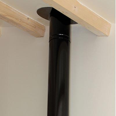 Poujoulat produits poujoulat commercialis s par les for Conduit cheminee exterieur poujoulat