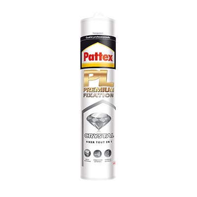 Pattex colle fixation Pl premium crystal Henkel