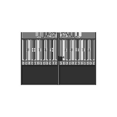 Portails neufs en destockage remise de 30 a 70 for Destockage portail pvc