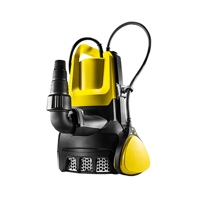 Pompe evacuation eaux chargees Karcher 8500 W