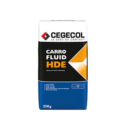 Mortier-colle Carrofluid hde Cegecol