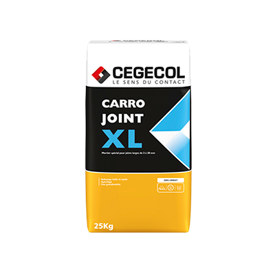 Mortier de jointoiement Carrojoint xl Cegecol