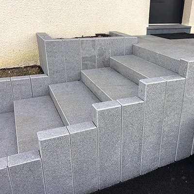 Fabuleux Escalier extérieur et blocs marches | Les Matériaux KF41