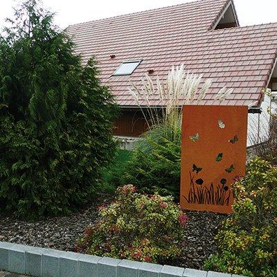 Panneaux pare vue bois panneau brise vue les mat riaux for Panneaux exterieurs jardin